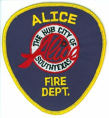 AFD Alice Fire Department Uniform Patch Texas TX