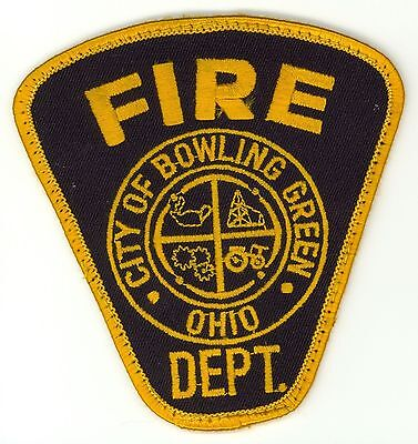 BGFD Bowling Green Fire Department Uniform Patch Ohio OH