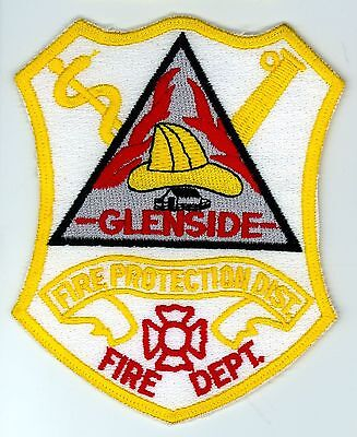 GFPD Glenside Fire Protection District Department Uniform Patch Illinois IL