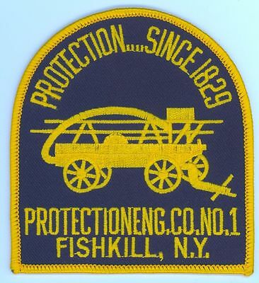 FFD Protection Engine Co. #1 Fishkill Fire Department Uniform Patch New York NY