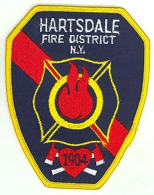 HFD Hartsdale Fire District Fire Department Uniform Patch New York NY
