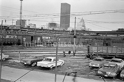 1968 Toronto CNR Canadian National Railway Yard Orig. B&W 35mm Film Negative #5