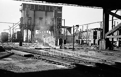 1968 Toronto CNR Canadian National Railway Yard Orig. B&W 35mm Film Negative #3