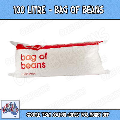 100 Litre Bags Of Beans - Refill Your Bean Bag  - 100L - Value Pack