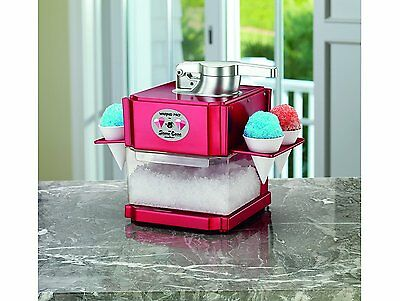 Snow Cone Maker Professional Electric Machine Ice Sno Shaver Shaved Crusher Icee