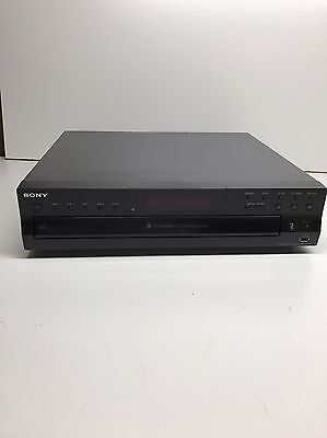 Sony CDP-CE500 5 Disc Changer Compact Disc Recorder No Remote Record USB