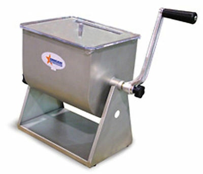 Omcan 19202 Tilting Meat Mixer 17 Lb With 4.2 Gal.Tank Capacity Free Shipping
