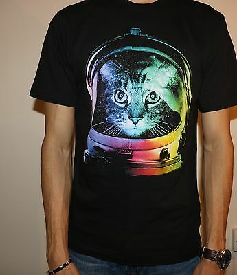 Space Cat T-shirt, Men T-shirt