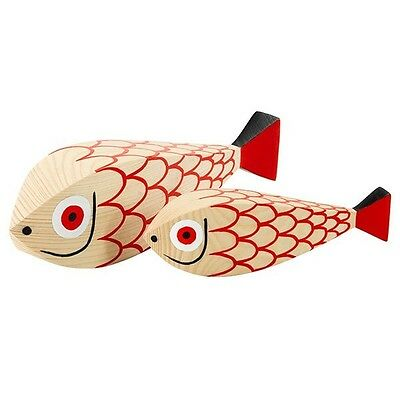 Vitra Holzfigur Wooden Doll Mother Fish & Child