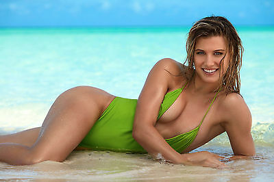 Eugenie-Bouchard In The Beach 8x10 Picture Celebrity Print