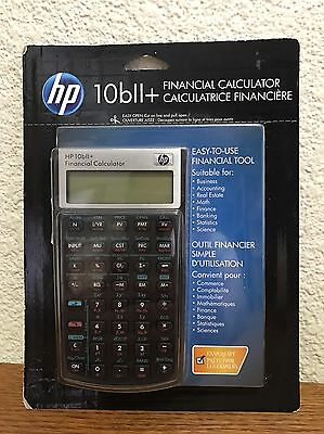 HP 10BII+ Financial Calculator New In Package