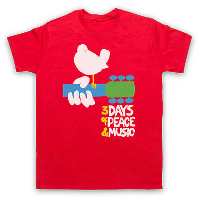 Woodstock 3 Days Of Peace & Music Unofficial Festival T-Shirt Adults & Kids Size