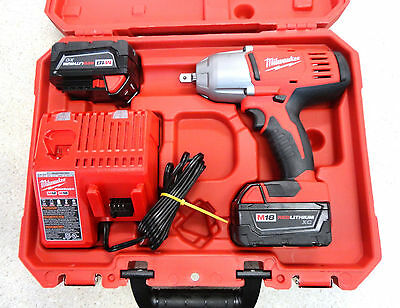 "Milwaukee 2662-20  M18 1/2"" High Torque Impact Wrench Kit - New!"