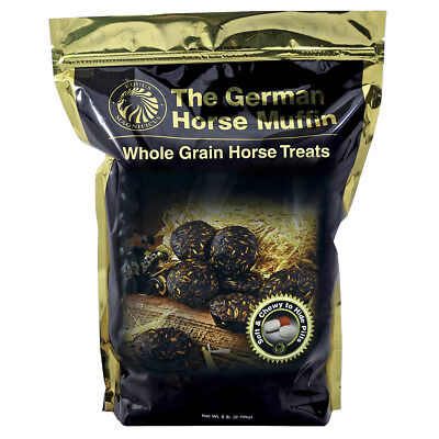 The German Horse Muffin Whole Grain  Equine Soft & Chewy Treats 6Lb