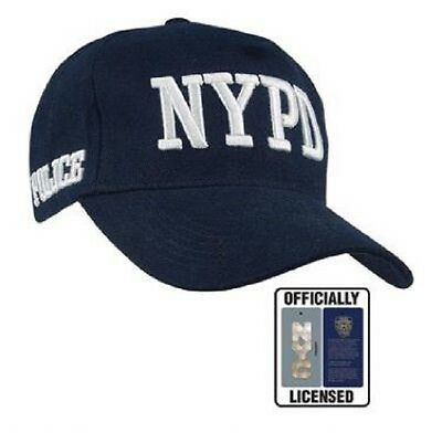 NEW YORK POLICE DEPARTMENT NYPD SHIELD CAP Mütze blau