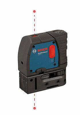 Bosch GPL 2 Two Point Self-Leveling Plumb Laser with Carrying Case