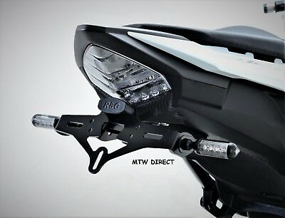Honda CBR500R 2017 R&G Racing Tail Tidy /Number Plate Holder LP0198BK Black