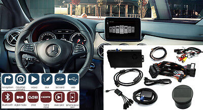 """ADAPTIV Mercedes B class NTG4.5 with 7"""" 8"""" Tablet web surfing BT iPhone USB AUX"""