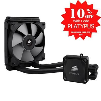 Corsair H60 120mm Liquid CPU Cooler Skylake Compatible 1x12CM Fan CW-9060007-WW.