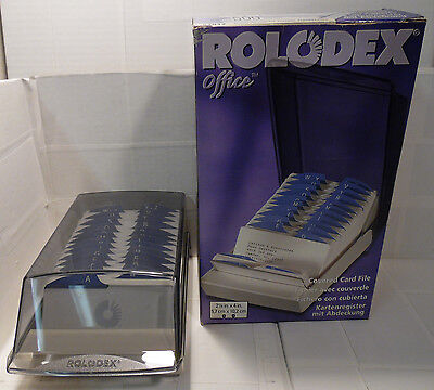 Rolodex Covered 500 Card File *new* 67012