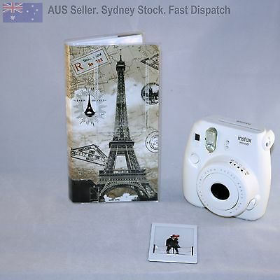 Travel Photo Album for Instax Mini 8 50s 70 90 & Polaroid 300 Holds 84 Pictures
