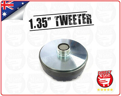 "Titanium Compression 1.35"" Screw-On Horn Driver Tweeter 13cm Diameter Gold"