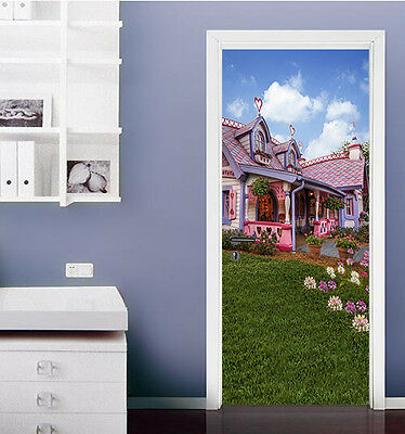 3D Lovely House 28 Door Wall Mural Photo Wall Sticker Decal Wall AJ WALLPAPER AU
