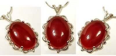 18thC Antique 22½ct France Carnelian Ancient Rome Persia Greece Celt Favorite SS