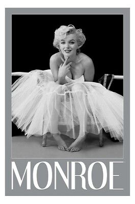 Marilyn Monroe - Ballerina POSTER 61x91cm NEW * ballet dress tutu