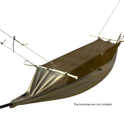 Portable Army Military Hammock Mosquito Tent Jungle Camping Hiking Off Ground