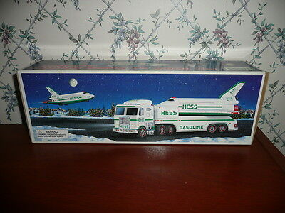 Nib Hess Toy Truck And Space Shuttle