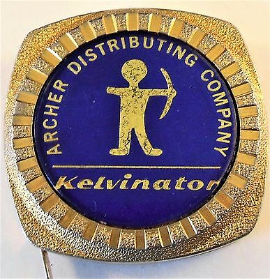 "Vintage ""HIT"" Advertising Tape Measure~Kelvinator Archer Distributing Co."