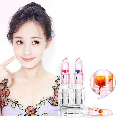Magic Flower Long Moisturizer Lipstick Clear Temperature Lipstick Color Changing