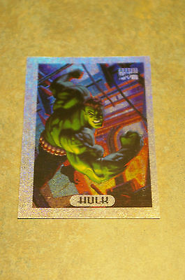 1994 Marvel Masterpieces 'hulk' Holofoil #4 Of 10 Card Nm