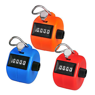 Handheld 4 Digit Tally Palm Clicker Counter 4 Digit Display