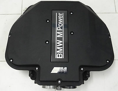 BMW E39 M5 S62 V8 Airbox Air collectors Inlet manifold Cover Motor Engine Carbon