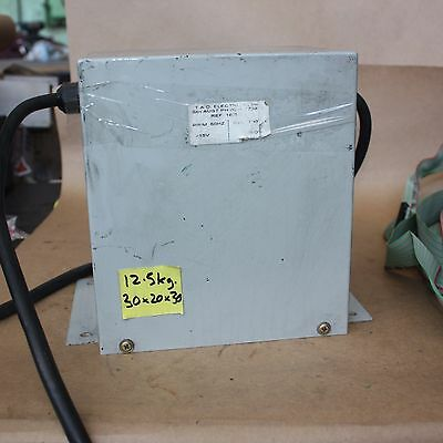 T.A.D. ELECTRICAL 3 phase  Step Down Transformer 415V to 200V 700VA