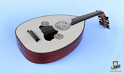 Turkish Professional Half Cut Electric Oud Ud String Instrument AOH-301K