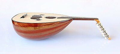 Turkish Quality Mahogany And Walnut String Instrument Oud Ud AO-104G