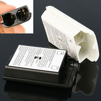 White Black AA Battery Pack Back Cover Shell Case Kit For Xbox360 Controller
