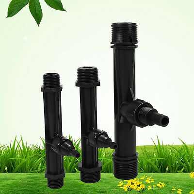 Irrigation Venturi Tube Ozone-Water Mixer Ejector Injector Agriculture 3 Size hg
