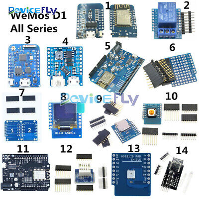 WeMos D1 Wifi Mini ESP8266 ESP 12F 12E DHT22 AM2320 CP2104 CH340 For NodeMCU