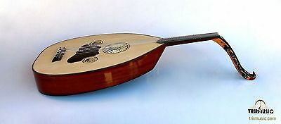 Turkish Professional Half Cut Electric Oud Ud String Instrument AOH-101K