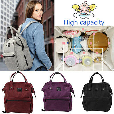 Multifunction Mummy Mother Diaper Nappy Backpack Newborn Baby Shoulder Bag New