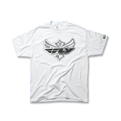 Fly Racing T-Shirt Kids The Logo weiß