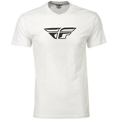 Fly Racing T-Shirt F-Wing weiß