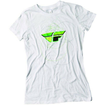Fly Racing T-Shirt Contempodium Lady weiß