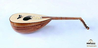 Turkish Professional Walnut Louta Lavta Oud String Instrument For Sale HSL-102
