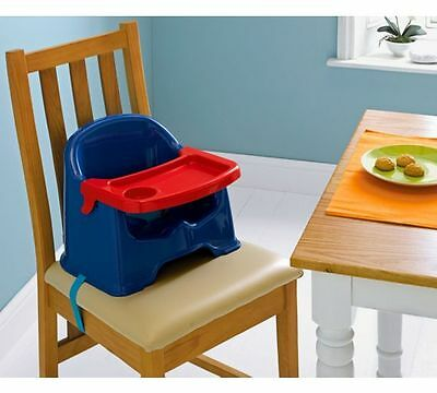 Baby Feeding Booster + Removable Tray Home & Travel High Chair Toddler Play Seat