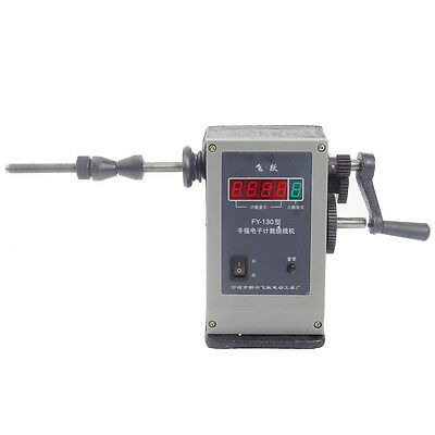 220V 50HZ New Manual Hand Coil Winding Machine Winder LCD